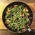 sauteed spring beans