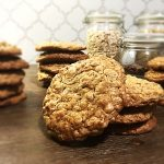 Chewy Chocolate Chip Raisin Granola Oatmeal Cookies
