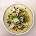 braised white clam shell