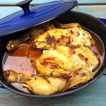 dutch oven slow cook whole chicken